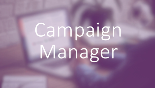 Marketing jobs in professional bodies: Marketing Campaign Manager