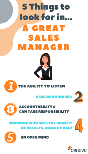 5 things to look for in a great sales manager