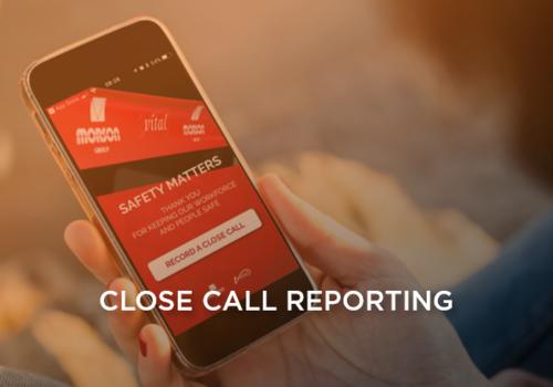 close call reporting